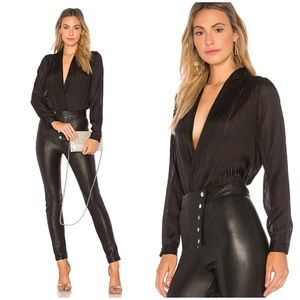 LOVERS + FRIENDS SILKY TOP REFORMATION HOUSE OF CB